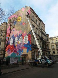 Mural wŁodzi, źródło: Rent-Expert
