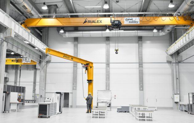 Suwnica pomostowa jednodźwigarowa SPJ / Rialex Crane Systems