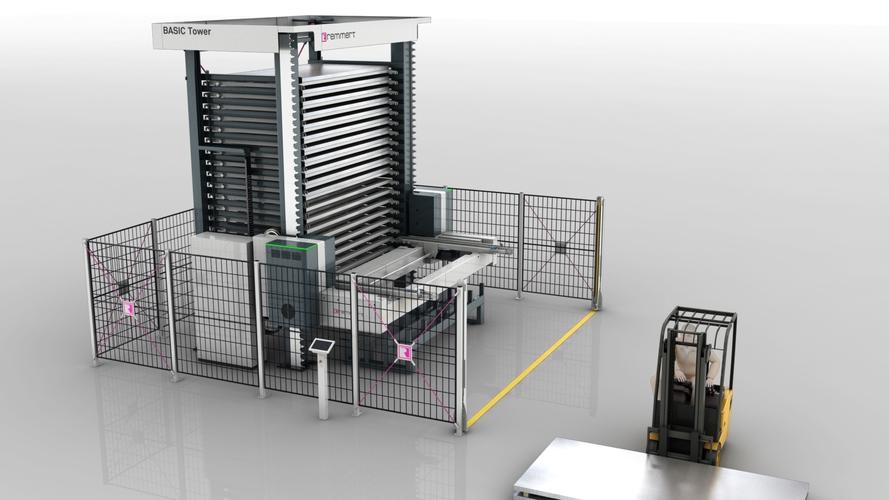 LaserFLEX 4.0 - system zautomatyzowany typu Basic Tower