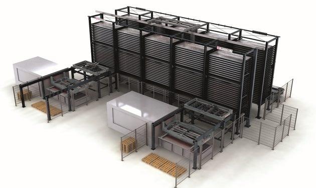 System obsługi blach Laser FLEX 4.0 firmy Remmert