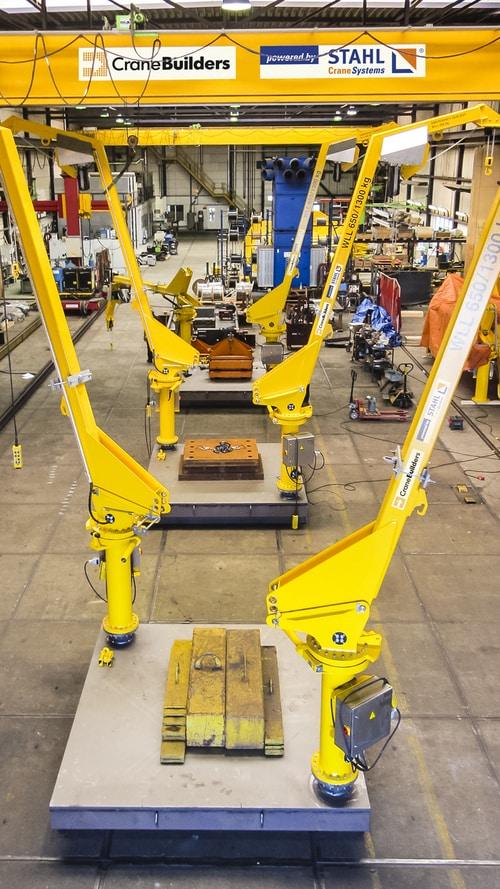 Żurawiki są produkowane wfabryce CraneSolutions wKatwijku wHolandii