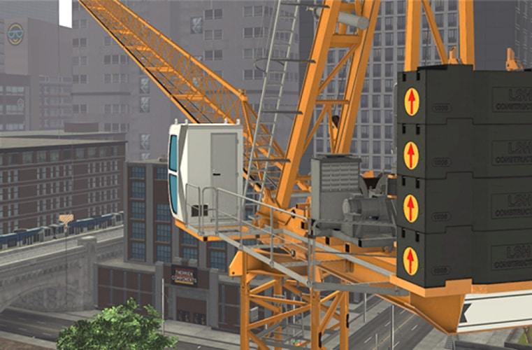 Symulacja pakietu szkoleniowego LTC (źródło: CM Labs Simulations Inc.)