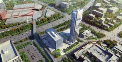 Wieża testowa thyssenkrupp Elevator w Atlancie