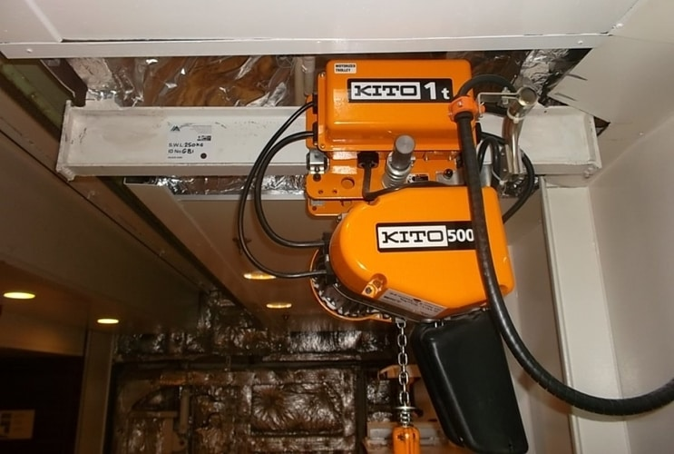 Elektryczne wciągniki łańcuchowe KITO EQ
