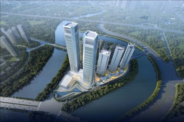 Forte Financial Island IV wChengdu wChinach
