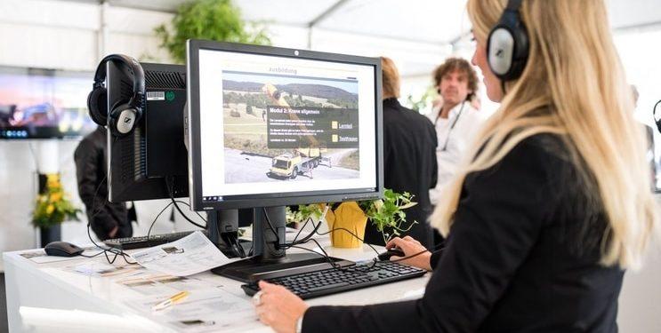 Platforma e-lerningowa Liebherr