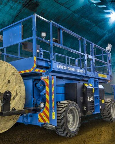 Podnośnik nożycowy Hybeko Tunnel GS-3390 RT