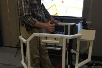 Symulator szkoleniowy dla operatorów podestów ruchomych